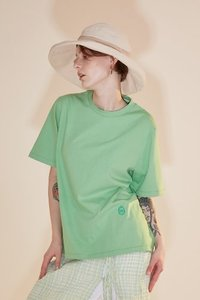 Tshirts Logo Embro Mint Green