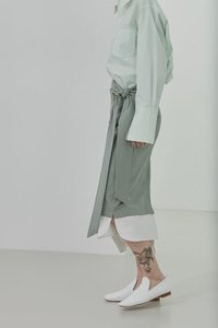 SOLD OUT *** Skirt Button Down Neo Mint