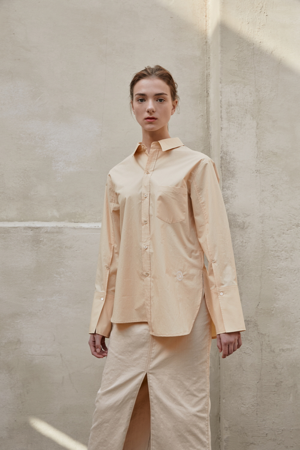 Shirts Back Strap Tea Beige