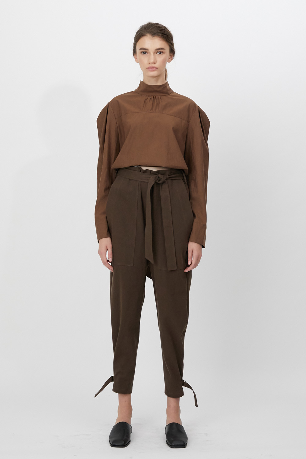 Pants Cargo Choco Brown
